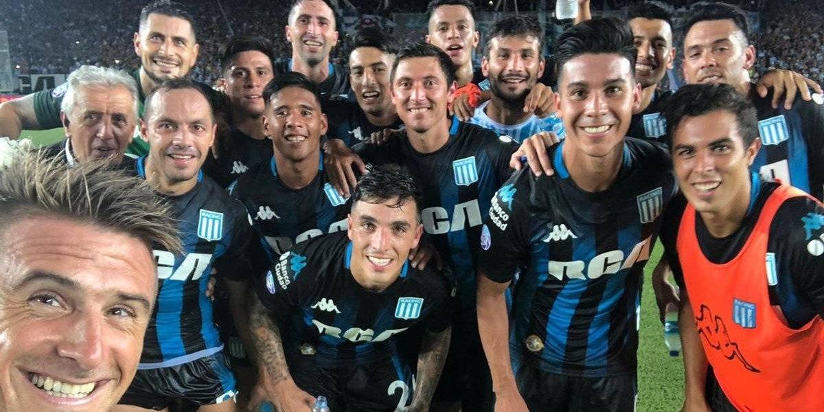 Racing de los chilenos recuperó el liderato en Argentina con un partidazo de Díaz y un tapadón de Arias
