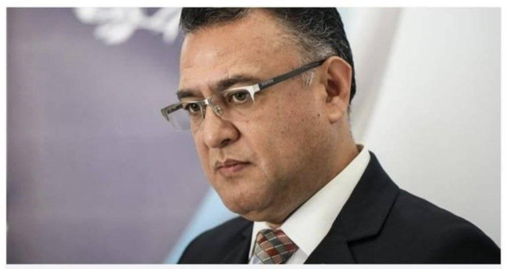 Roberto Mota Bonilla, jefe de seguridad del OJ. STOJ