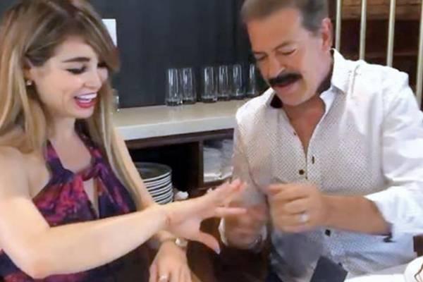 Novia de Sergio Goyri aclara que sí habrá boda