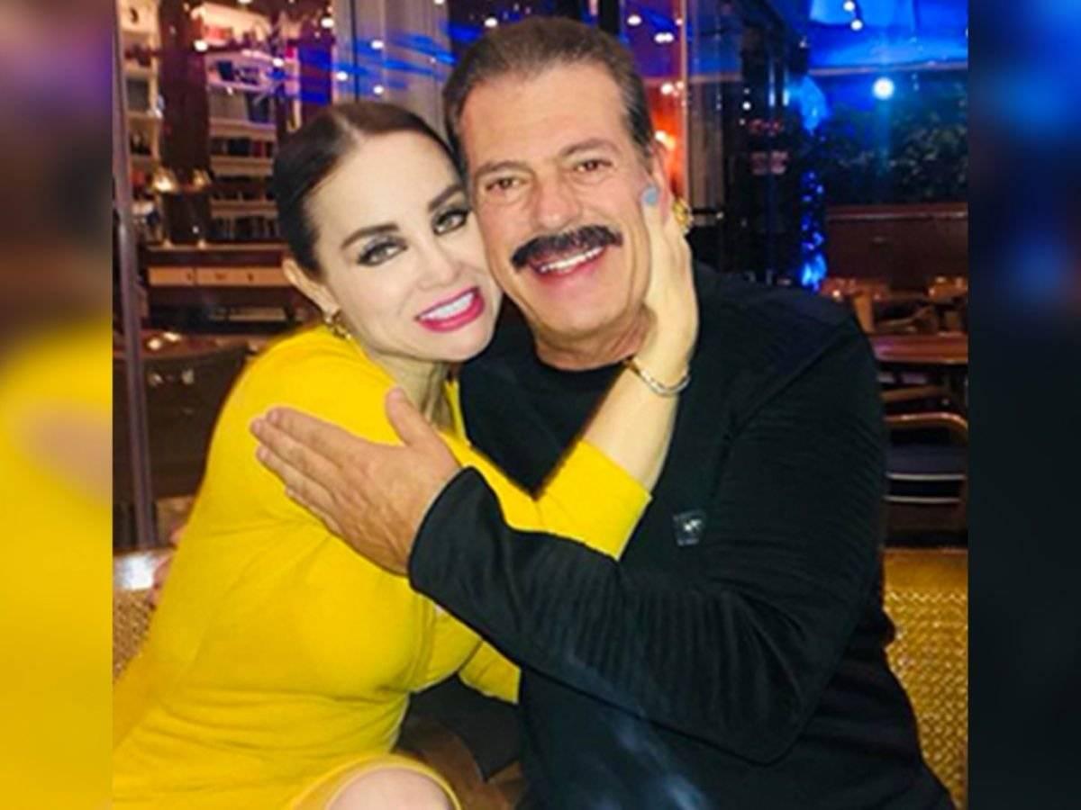 Sergio Goyri y Lupita Arreola
