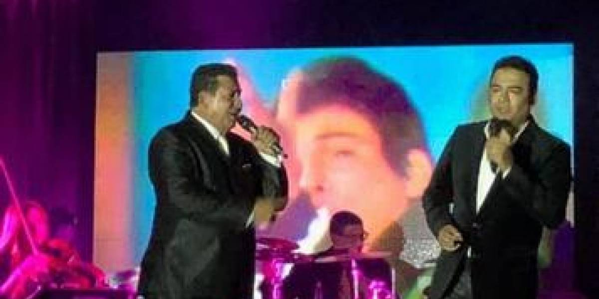 Sergio Hernández y Ever Ramírez rindieron homenaje a José José