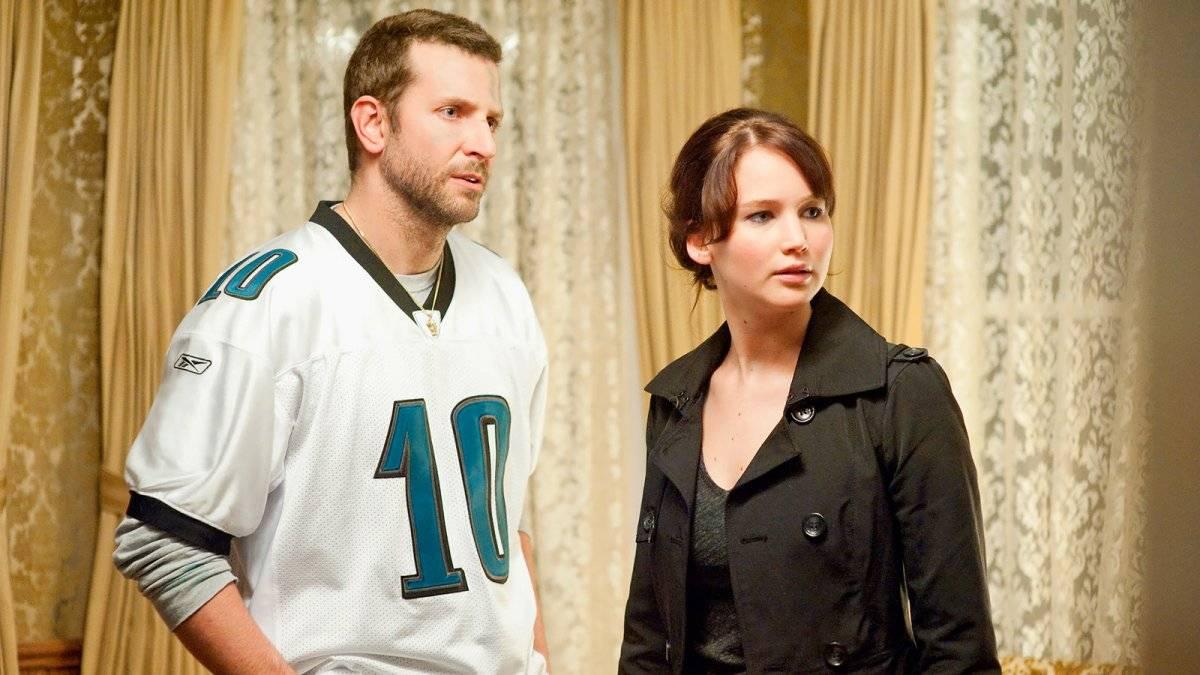 Bradley Cooper e Jennifer Lawrence em O Lado Bom da Vida (2012), filme com 8 indicações ao Oscar 2013; Lawrence venceu na categoria Melhor Atriz Divulgação