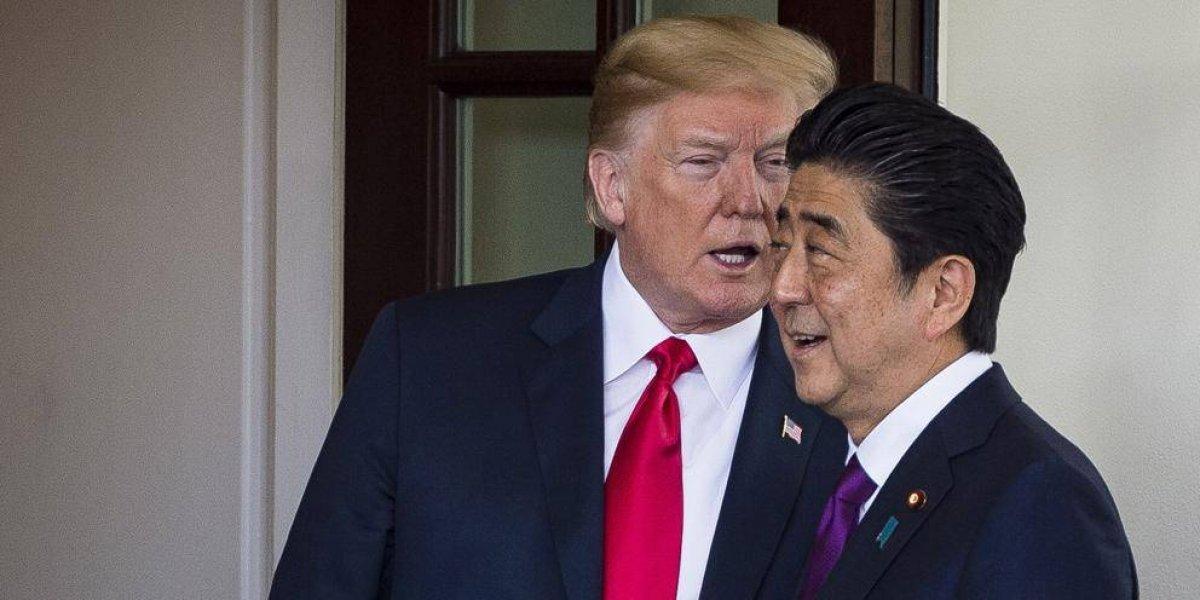 ¿Casa Blanca le pidió a Japón que propusiera a Trump al Nobel?