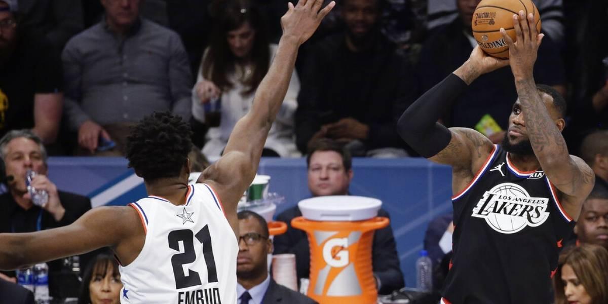 VIDEO. LeBron y su equipo conquistan el Juego de Estrellas de la NBA