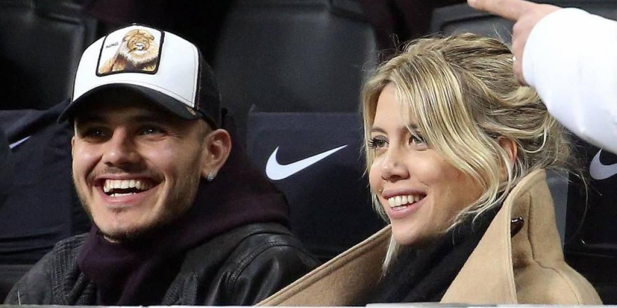 """El drama de Icardi en el Inter hace llorar a su esposa Wanda Nara: """"No queremos irnos del club"""""""