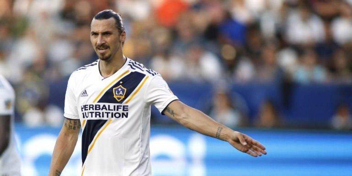 """Ibrahimovic promete romper """"todos los récords de la MLS"""" en 2019"""