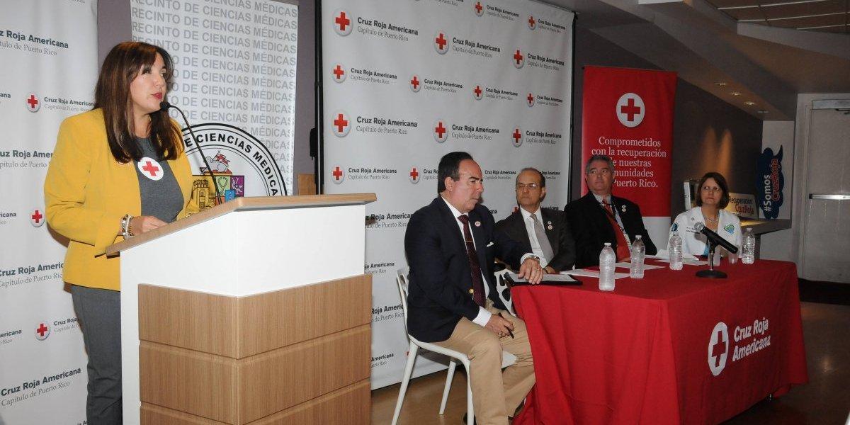 Cruz Roja anuncia importante alianza con sistema UPR