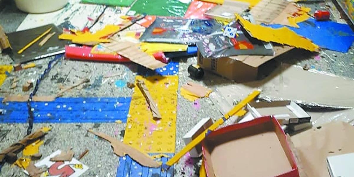 Alunos ficam sem aula após vandalismo em Santo André