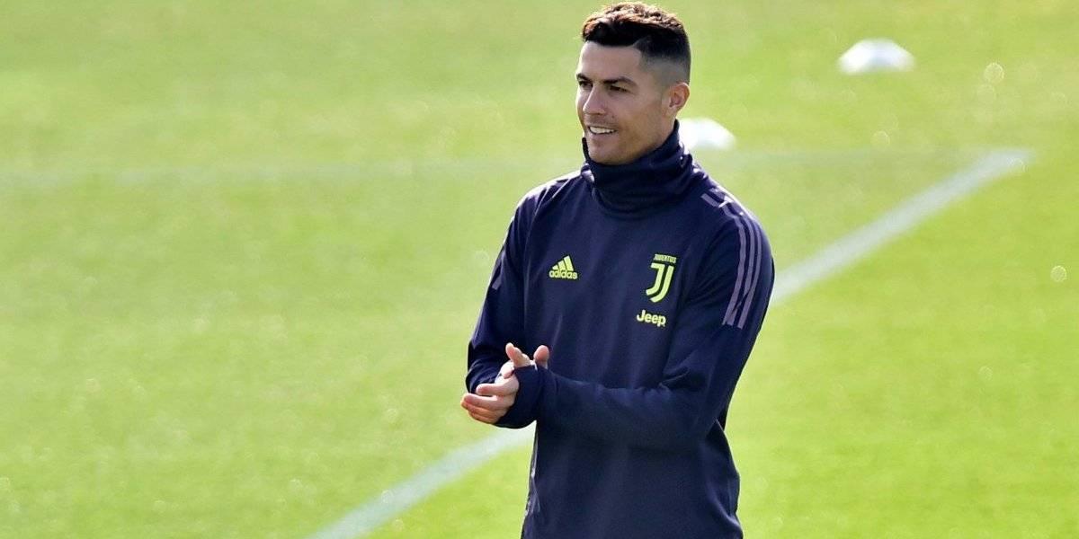 Multirecordista, Cristiano Ronaldo demonstra 'nervosismo' no ultimo treino antes de enfrentar Ajax