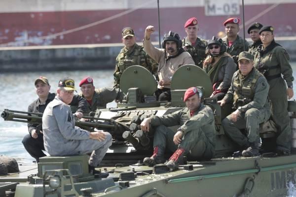 Fuerzas Armadas venezolanas. AP
