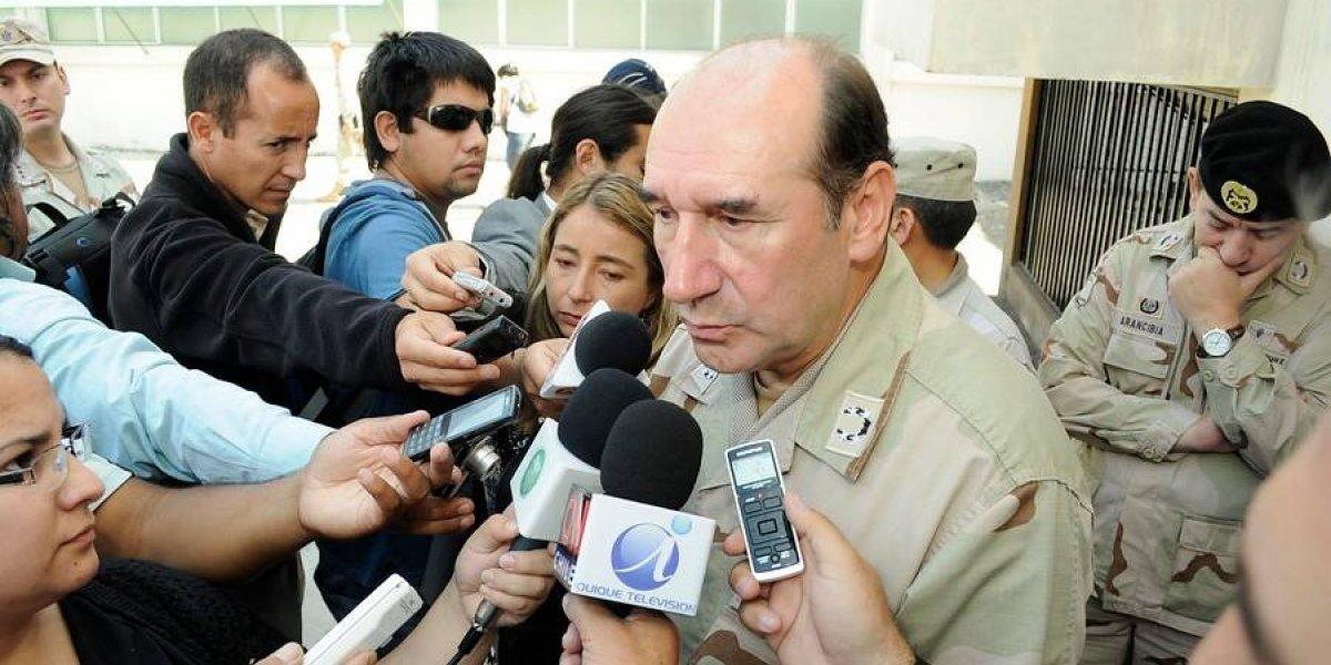 Fuente-Alba alegó que le negaron almuerzo en interrogatorio