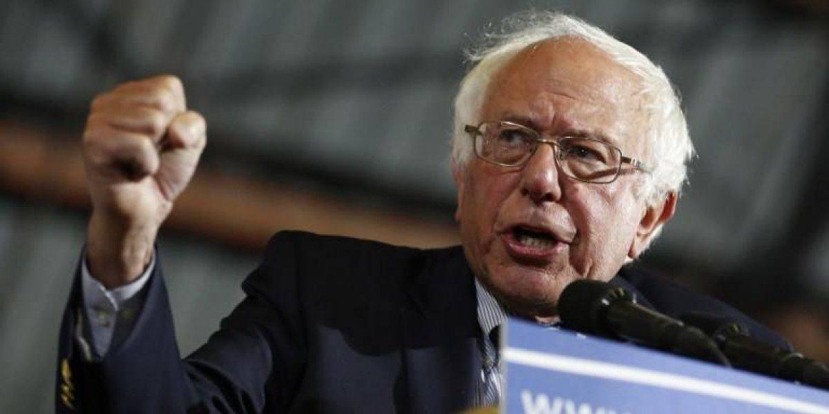 Bernie Sanders buscará la presidencia de Estados Unidos en 2020