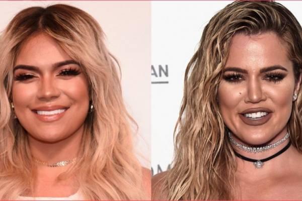 0081b8730b Confunden a Karol G con Khloé Kardashian por su cambio de look ...