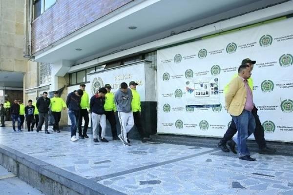 Inició el juicio contra integrantes de Los Rolex, señalados de sembrar el terror en Bogotá