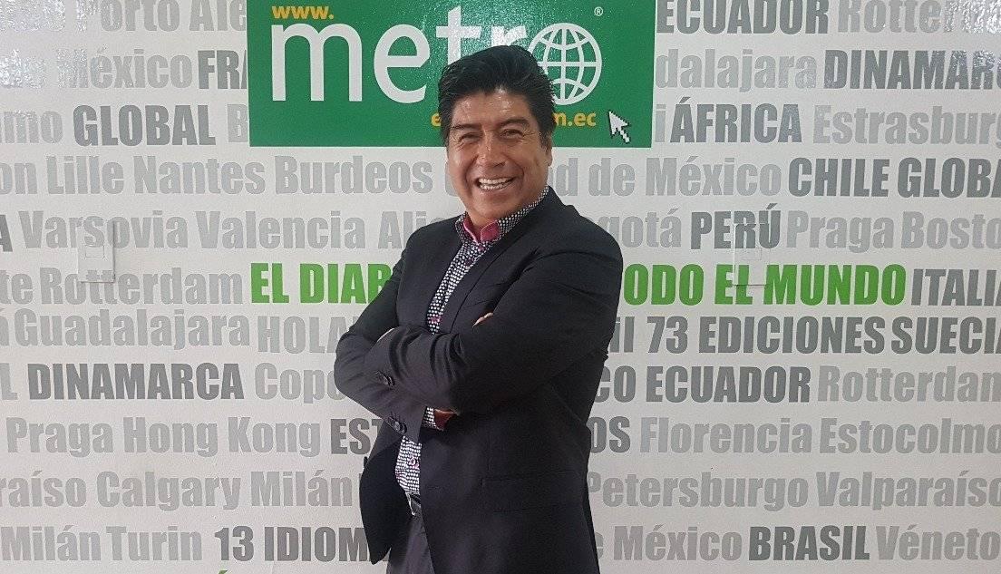 Jorge Yunda, candidato a Alcalde de Quito por Lista 19, Unión Ecuatoriana