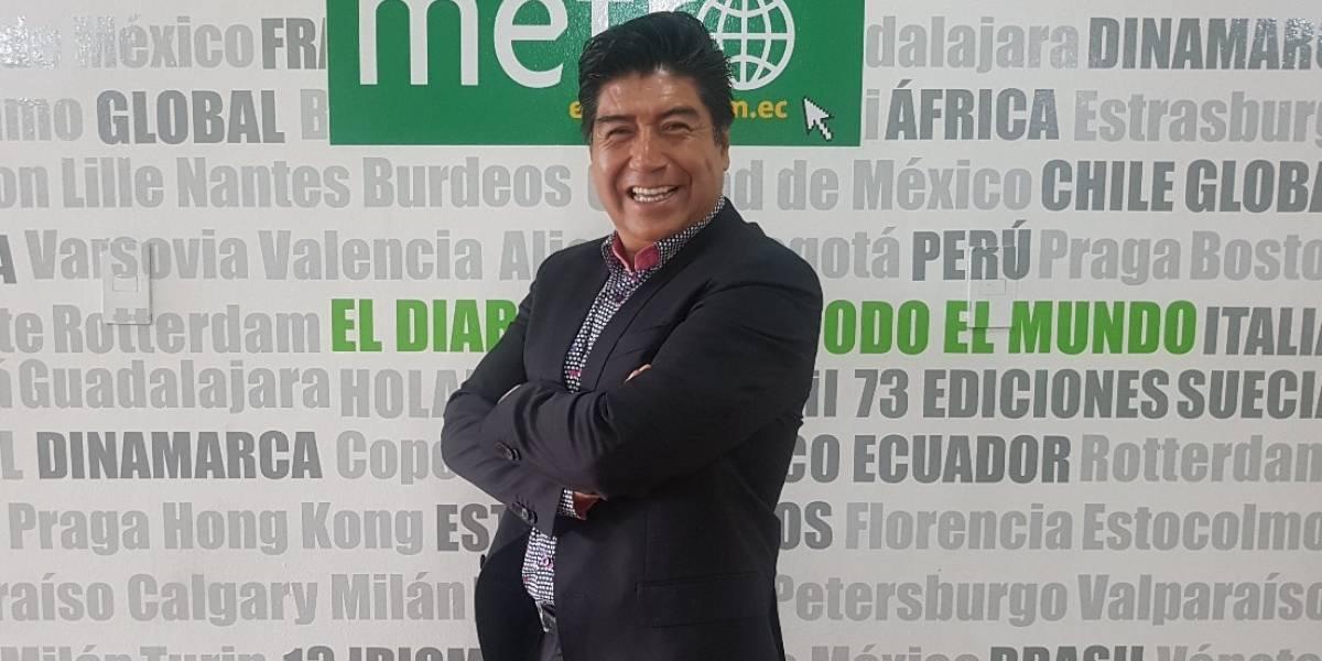 Jorge Yunda: Quiere a Quito sin miedo en su alcaldía