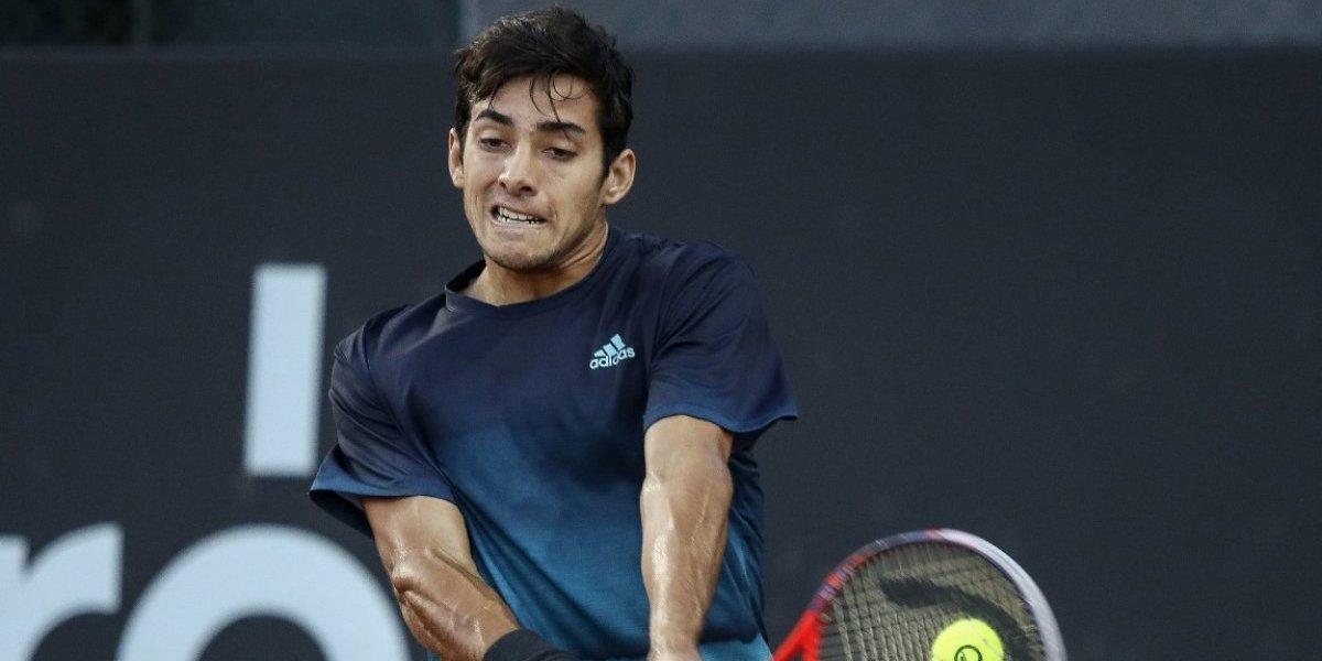 Garín estuvo sólido en su debut en Rio y ganó por primera vez en un ATP 500