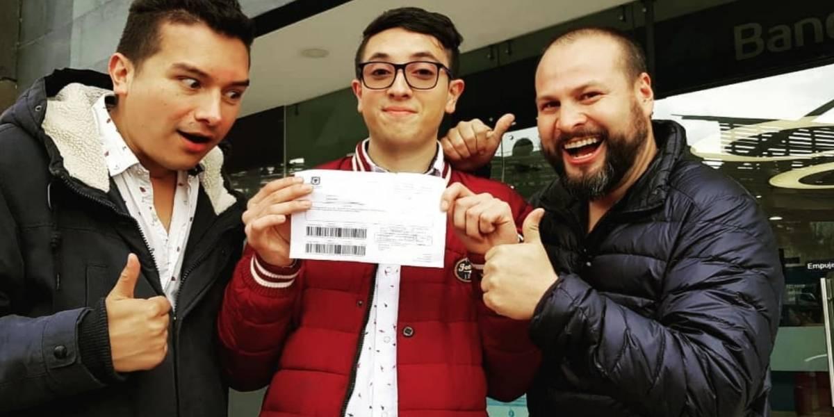 ¿Final feliz? Con ayuda de youtubers, joven pagó la multa por comprar una empanada en la calle