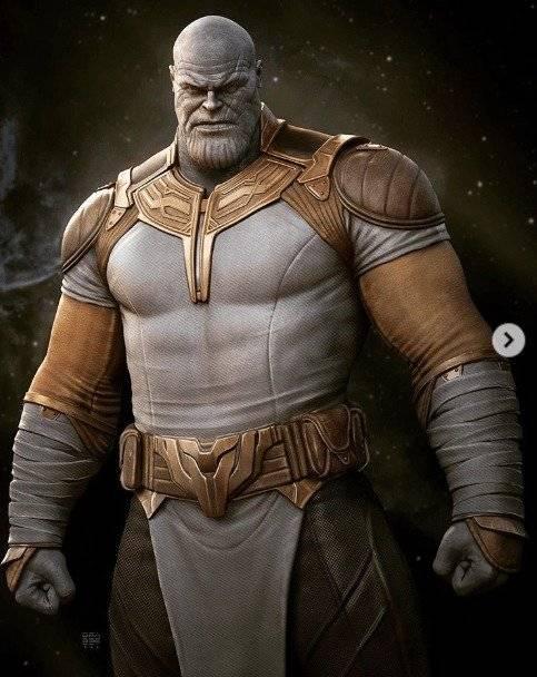 Thanos, nuevo traje
