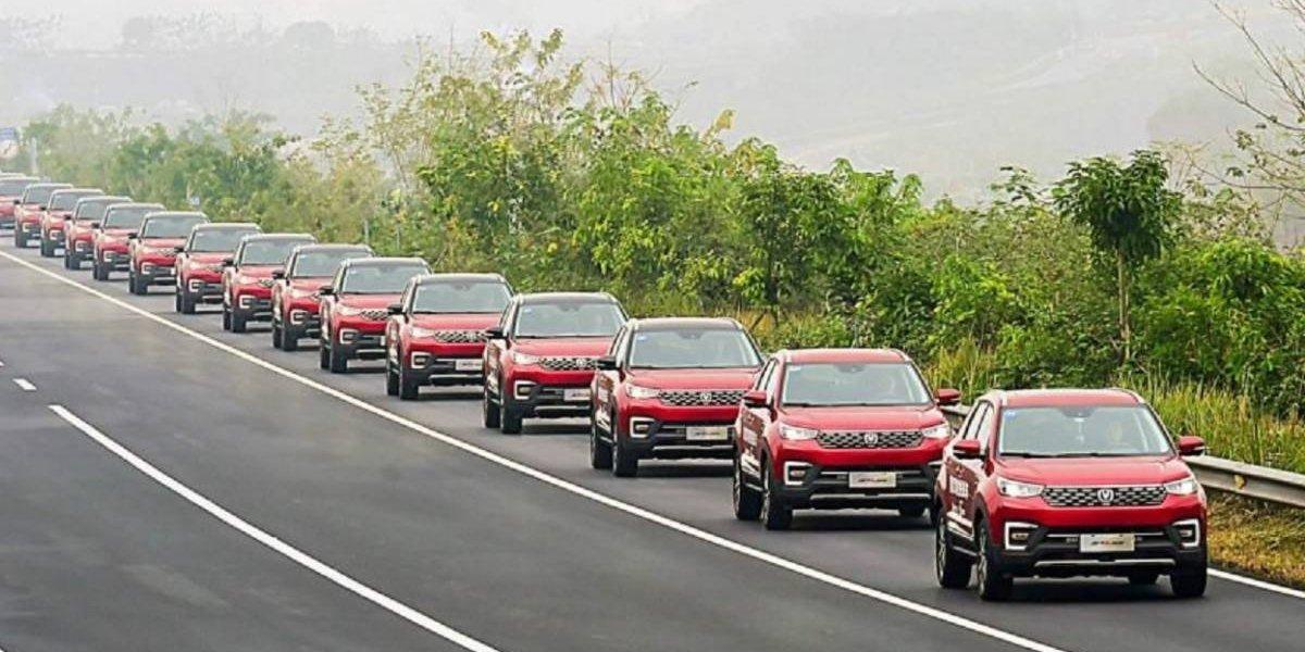 Changan entra a los Guinness por los vehículos autónomos