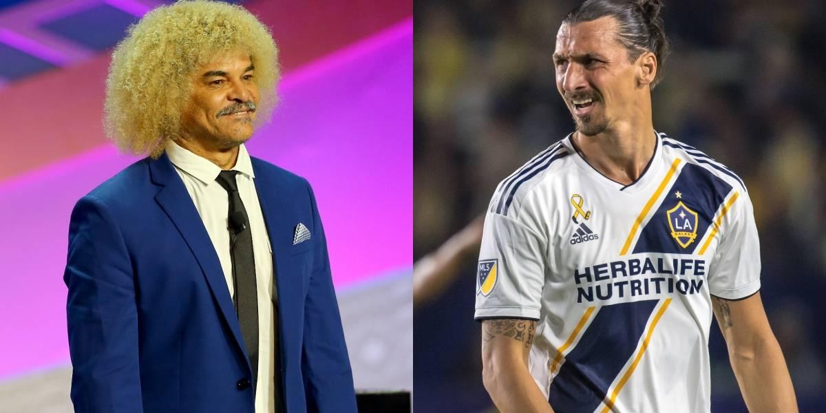 ¡Se lo sentenció! Zlatan le habló fuerte y claro al 'Pibe' Valderrama