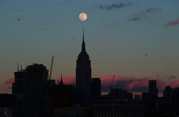 Superluna de nieve Getty Images