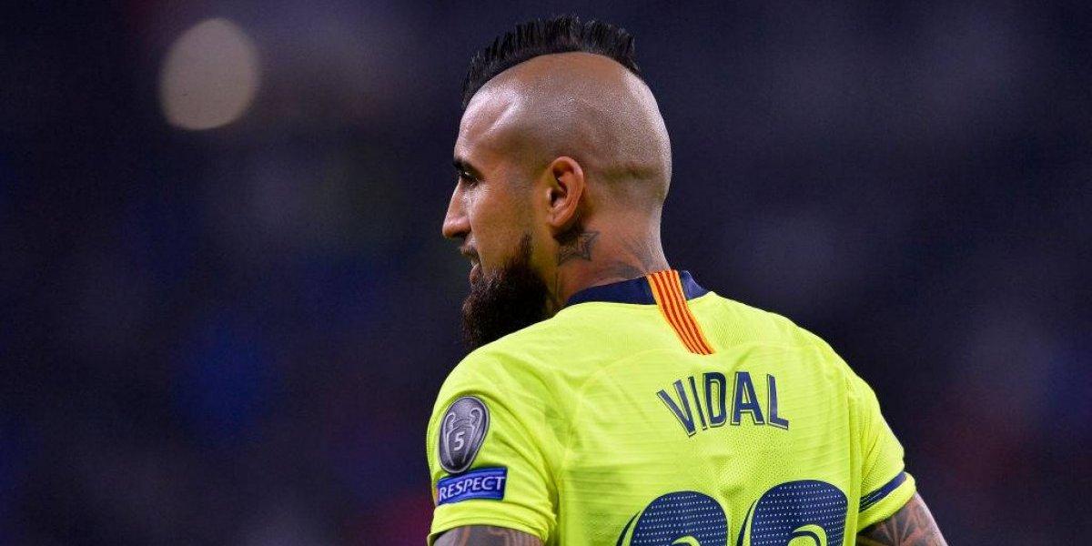 """Ernesto Valverde explicó la suplencia de Arturo Vidal: """"Pensé que era la mejor opción"""""""