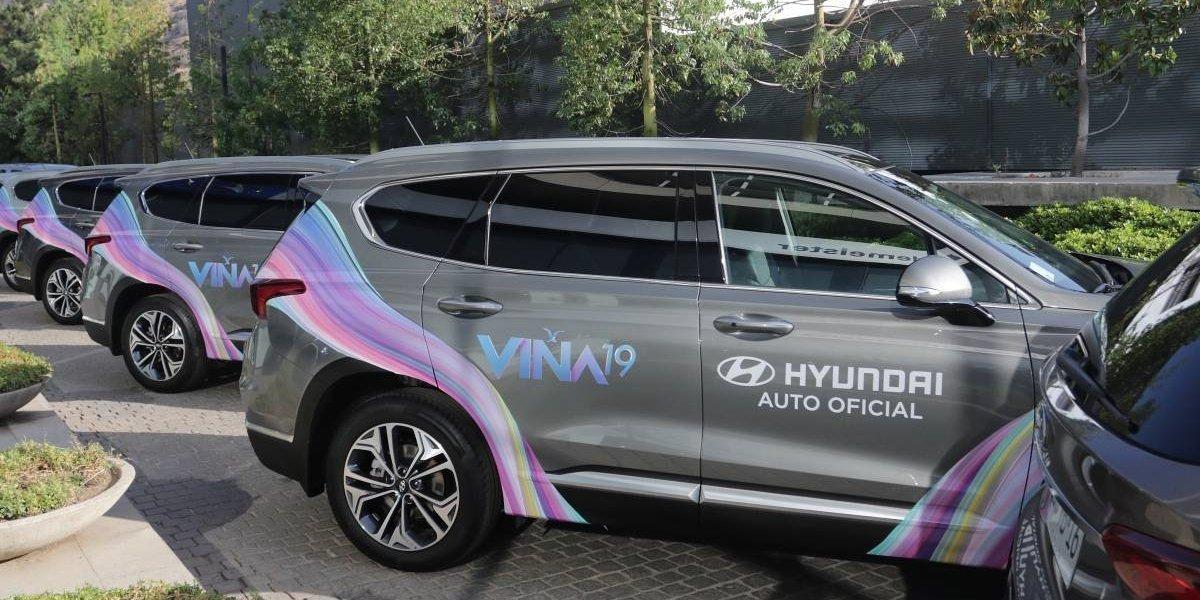 Hyundai vuelve a poner los autos para el Festival de Viña