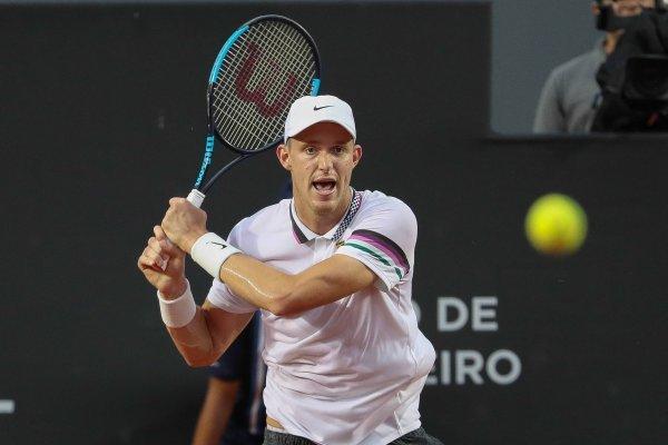 El Príncipe se despidió rápidamente / imagen: Sitio web Rio Open