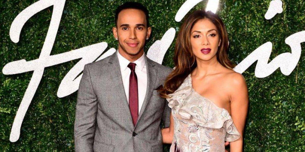 Filtraron un video íntimo de Nicole Scherzinger junto al piloto Lewis Hamilton