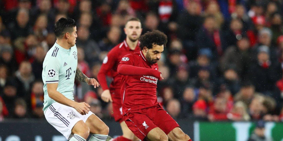 Sin hacerse daño Liverpool y Bayern Múnich definirán todo en la vuelta
