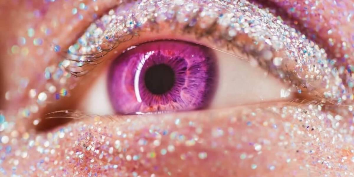 Maquiagem para Carnaval com glitter ecológico