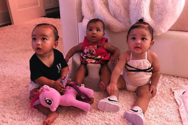 Regalos extravagantes del clan Kardashian para sus hijas
