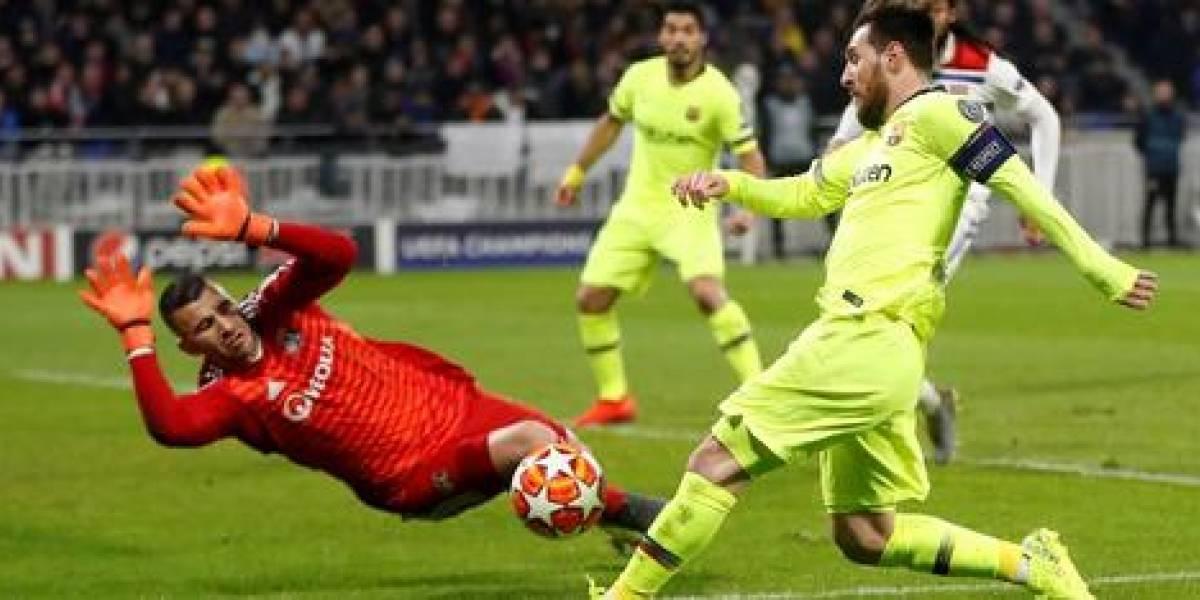 Messi y Barcelona salen ilesos ante el Olympique Lyon