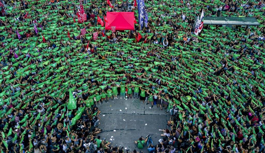 Pañuelazo verde en Argentina