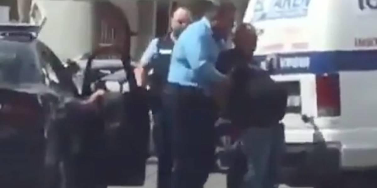 """Arrestan a """"El Taken de Corozal"""" por chocar varios vehículos"""