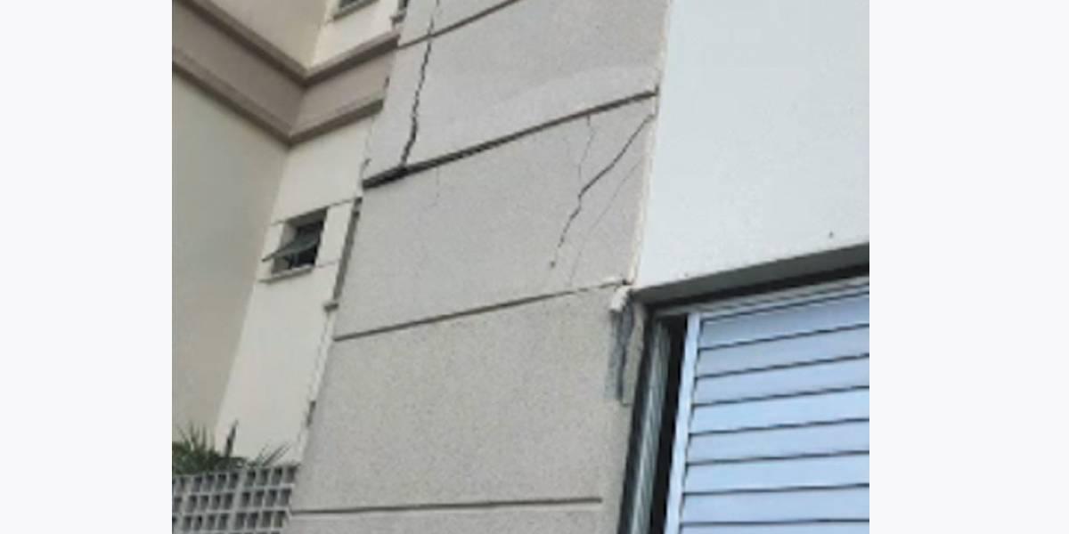 Edifícios esvaziados no Morumbi são escorados