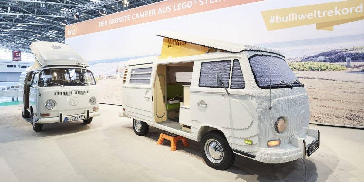 Vuelve la T2 de Volkswagen… en forma de Lego