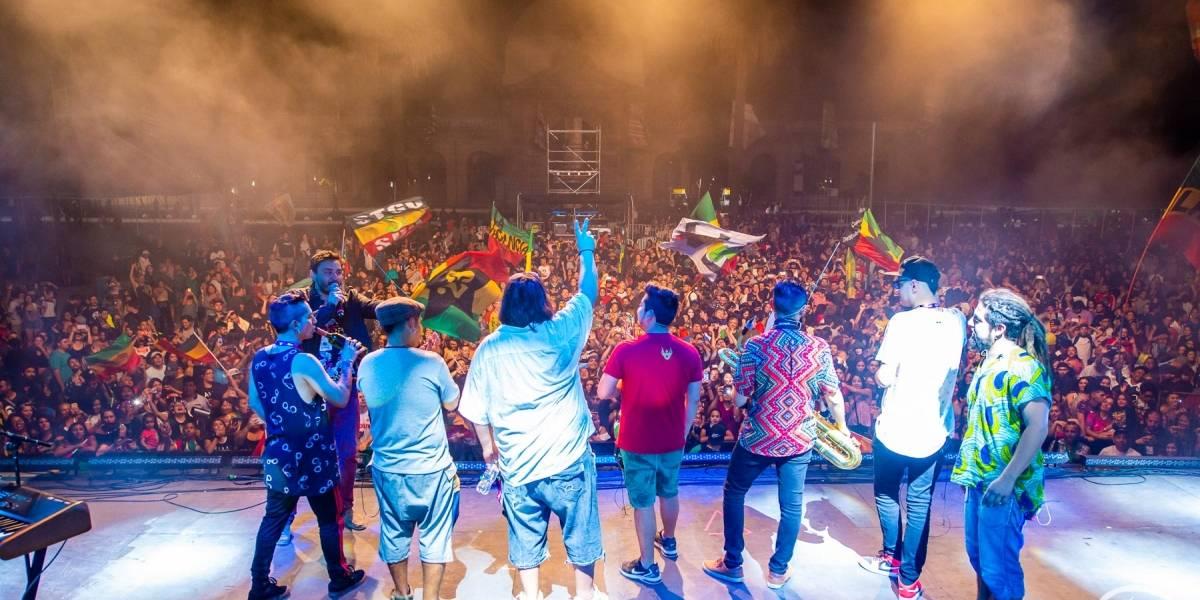 La música del mundo convocó a 50 mil personas en la Plaza La Paz de Recoleta