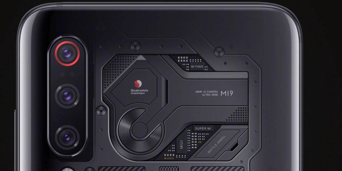 Xiaomi Mi 9 se muestra con cuerpo transparente pero falso