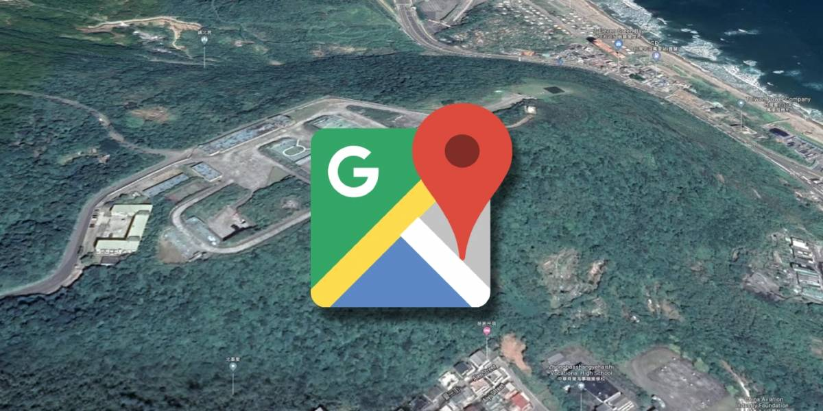 Google Maps revela por error imagenes de una base militar secreta en Taiwán
