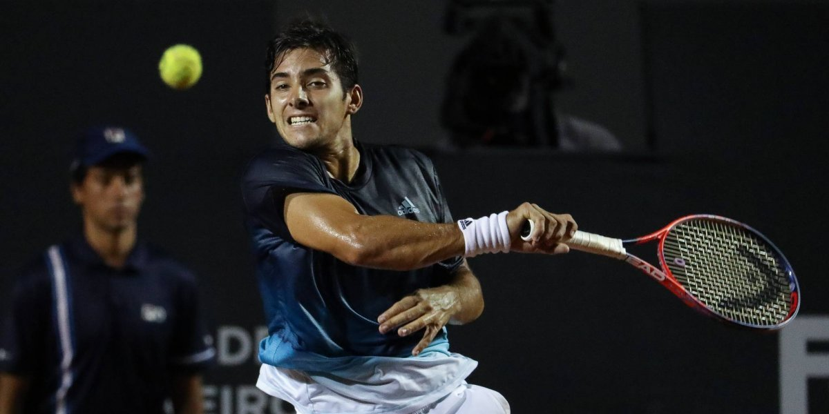 Christian Garín falló en los momentos claves y se despidió en los octavos de final del ATP de Río de Janeiro