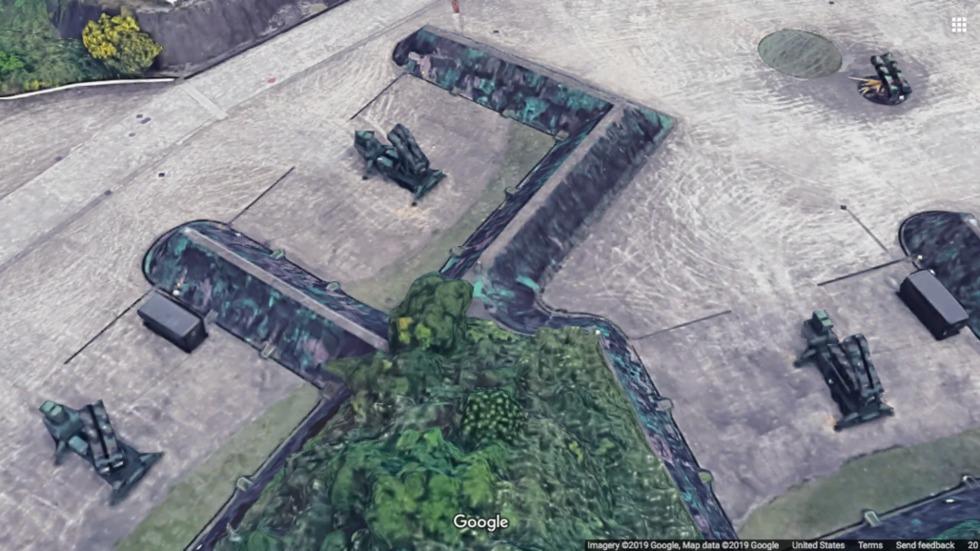 Google Maps Taiwán