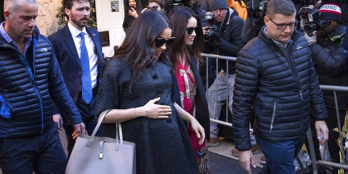 Meghan Markle celebra en Nueva York primer 'baby shower'