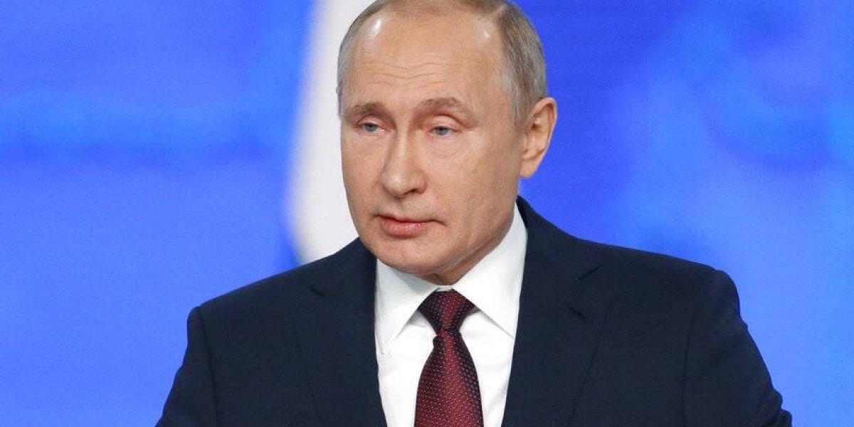 Presidente ruso analiza alzamiento militar en Venezuela