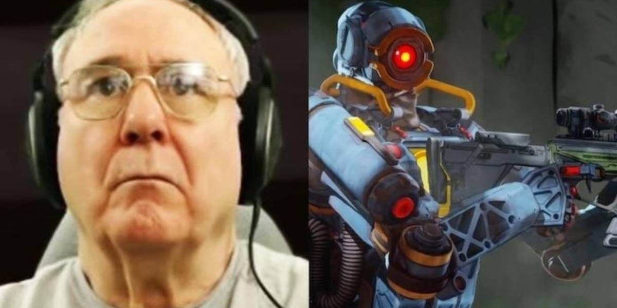 Conozcan al abuelo que es todo un experto en Apex Legends