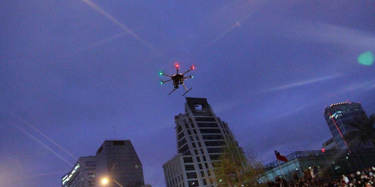 ¿Drones bomberos? La curiosa propuesta para evacuar edificios