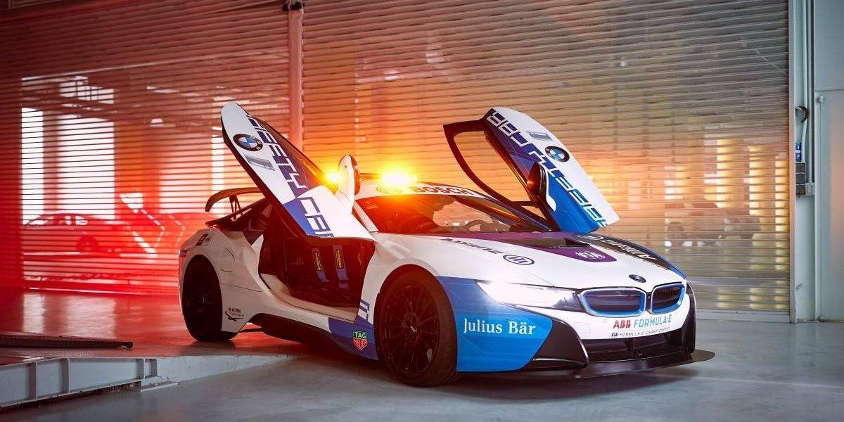 BMW presenta su nuevo pace car para la Fórmula E
