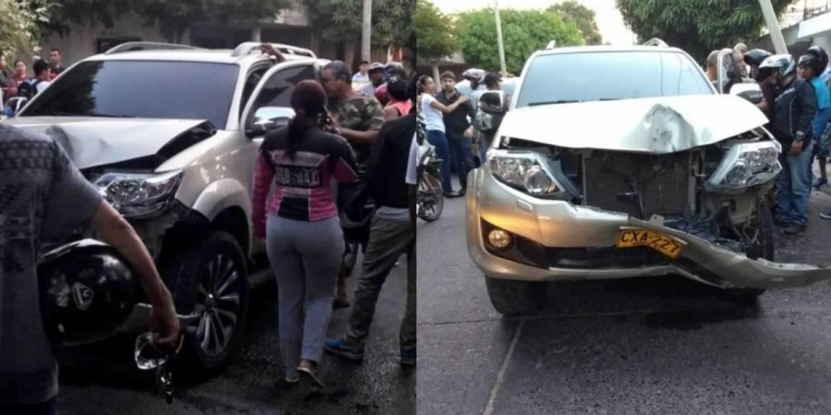 Juan Mindiola conducía borracho en camioneta donde iba Ana del Castillo, joven cantante vallenata
