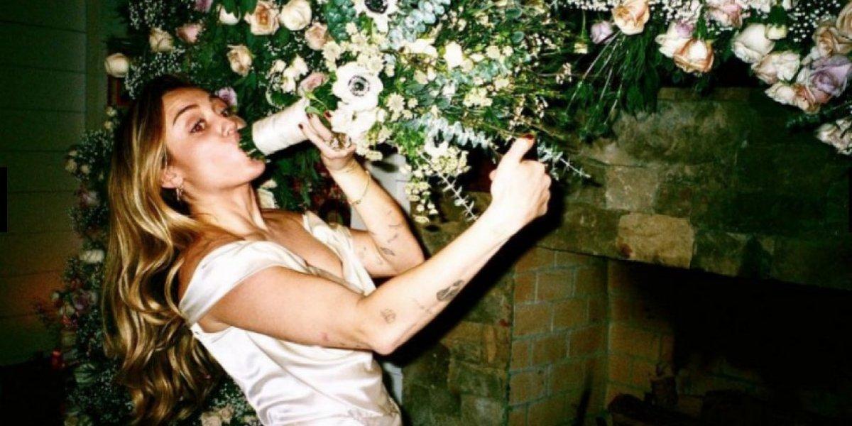 Miley Cyrus se te fue la mano en tu boda